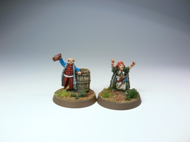 Limited edtion models: Jan Onufry Zaglob and Cossack witch
